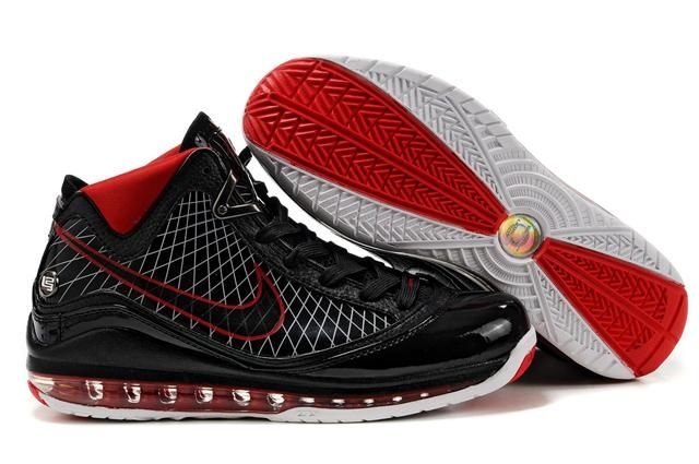 http://www.airfoamposite.com/nike-lebron-7-black-red-white-p-310.html NIKE LEBRON 7 BLACK RED WHITE Only $86.96 , Free Shipping!