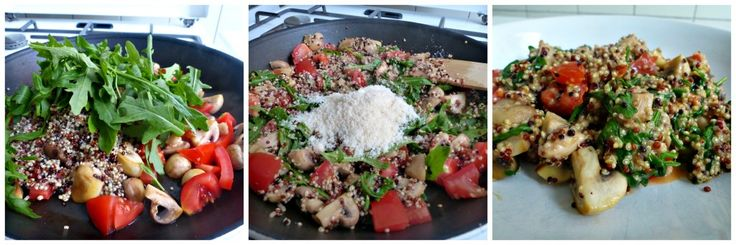 Ik heb al een aantal recepten met quinoa met jullie gedeeld. Bijvoorbeeld deze met kip, deze met zalm en deze salade. Deze keer weer een recept, maar deze keer een vegetarische variant, die naar mijn idee perfect bij de herfst past! Dit gerecht is gemakkelijk te maken, bevat weinig ingrediënten en het staat binnen 15 … Lees verder Quinoa met Champignons, Rucola en Parmezaanse kaas