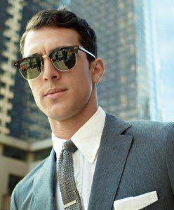 Las Tendencias de gafas de hombre para este 2016 Gafas de sol cuadradas de  las