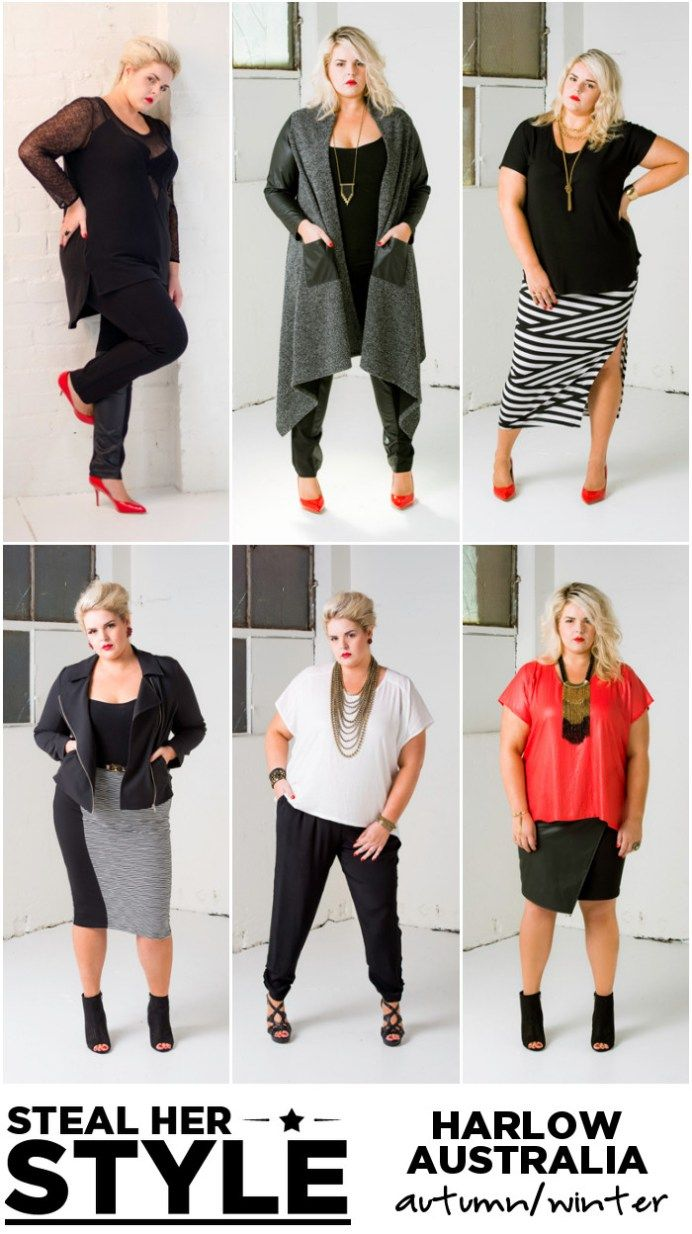 harlow australia plus-size fashion winter autumn fall