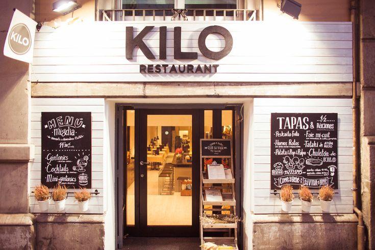 Restaurante Kilo - Barcelona #exteriorbuildingid