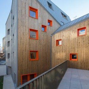 Social+housing+by+Vous+Êtes+Ici+Architectes++slots+between+buildings+in+Paris