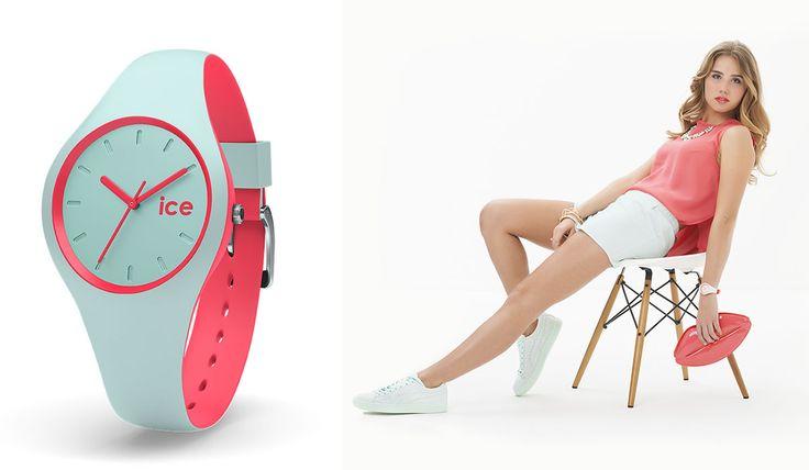 ICE DUO Ya disponibles en http://www.todo-relojes.com/marca.asp?modelo=823&marca=108 la nueva colección de relojes Ice duo, relojes que por su colorido serán protagonistas este verano. Os mostramos una de las portadas de su nueva campaña protagonizada por su musa Axelle Despiegelaere http://www.todo-relojes.com/detalle.asp?codigo=27138 #ICEDuo #relojescolores