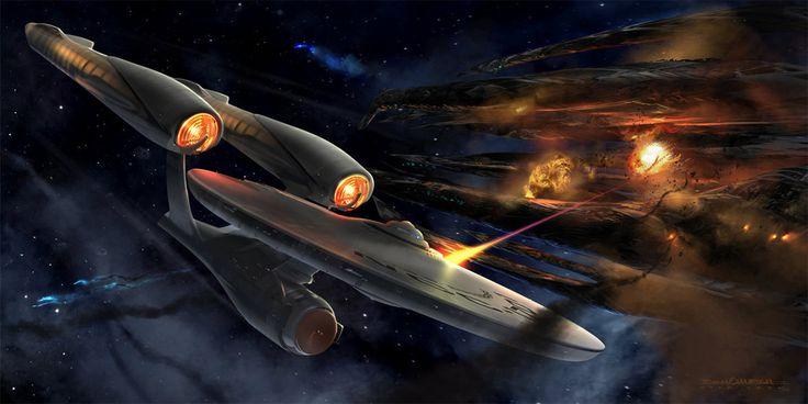 concept ships: STAR TREK concept art by Ryan Church