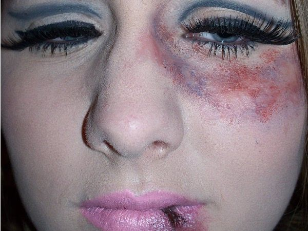 Makeup Ideas bruise makeup : black eye bruise makeup - Google Search : Little Shop : Pinterest ...