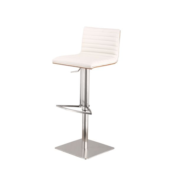 Unique Stainless Steel Swivel Bar Stool