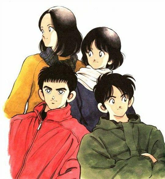 Hiro, Hideo, Haruka, Hikari - H2 By Adachi Mitsuru
