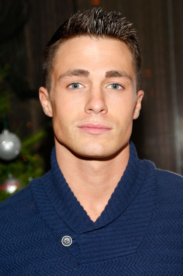 Like, if scientists had to build a perfect human face from scratch, they would probably just recreate this face exactly. Colton Haynes...BEAUTIFUL. #HotDang