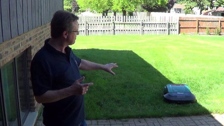 Robot Lawn Mower - ROBOMOW w Akcji Koszenia Trawy - Zobacz  Konsultacja , Testowanie , Serwis - Bydgoszcz , ul. Cmentarna 24, tel. 52 373-25-31