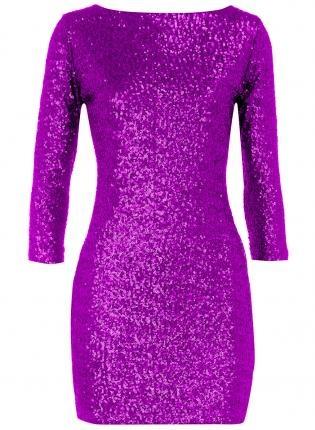 Purple Sequin Dress,  Dress, women s catalog clothing  clothing catalogs, Chic