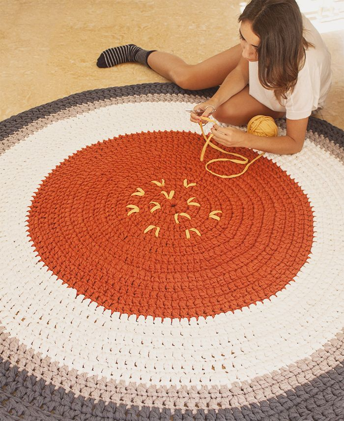 Giant Crochet Rug. www.susimiu.es Más