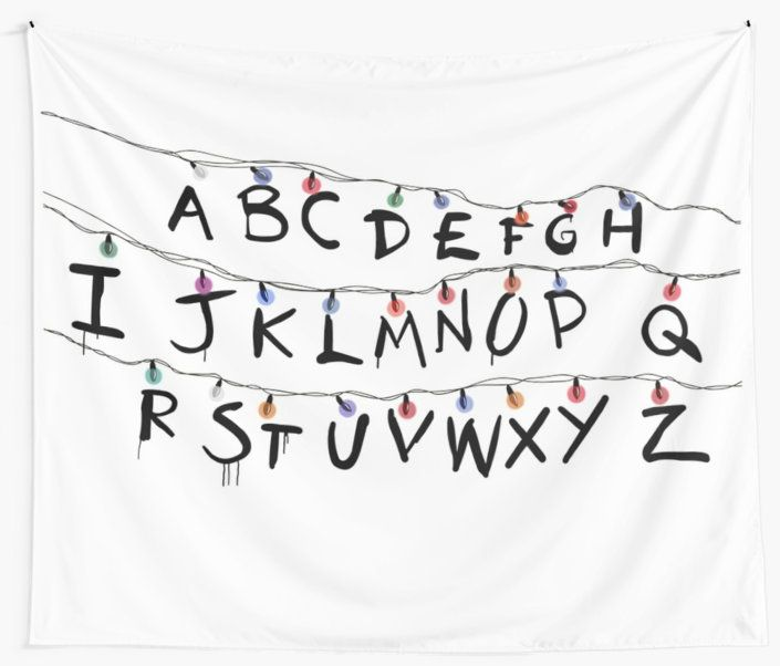 """Stranger Things"" Wall Tapestries by ameliasuprema 