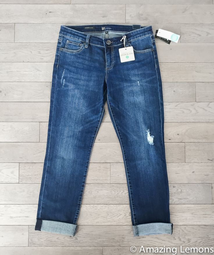 I'd love some denim capris like these but hopefully with a little stretchy material in them. I like my denim to fit a little tight since they tend to loosen with wear.