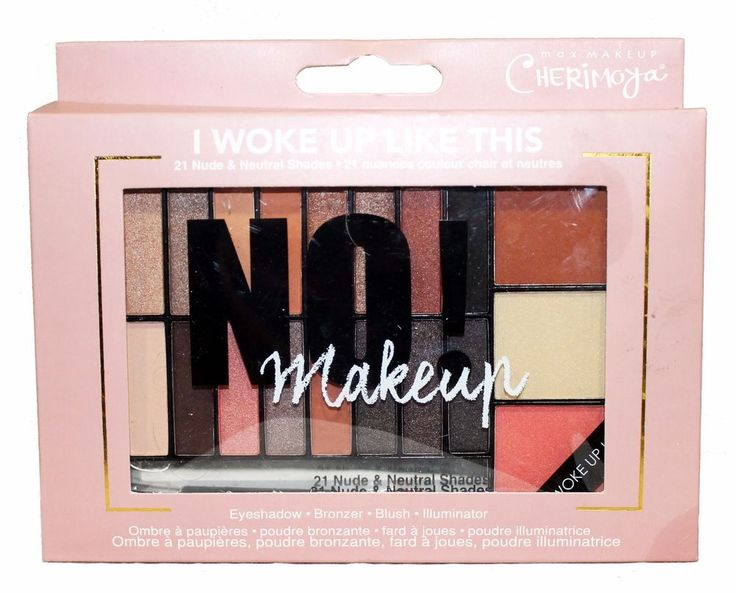 CHERIMOYA Max Makeup Palette I WOKE UP LIKE THIS Eyeshadow+Bronzer+Blush+MORE    eBay