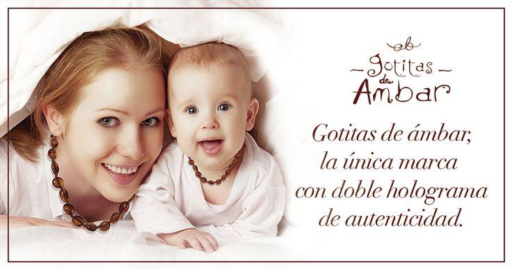 COLLARES DE GOTITAS DE AMBAR®  ayudan  a los bebés que están en etapa de dentición, por sus propiedades calmantes, desinflamantes y analgésicas naturales.