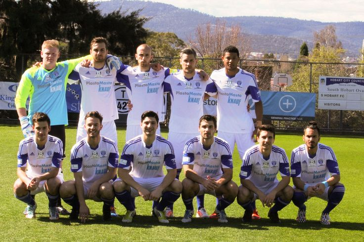 2014 - NPL Playoffs - SMFC vs South Hobart (Team Photo by Cindy Nitsos)