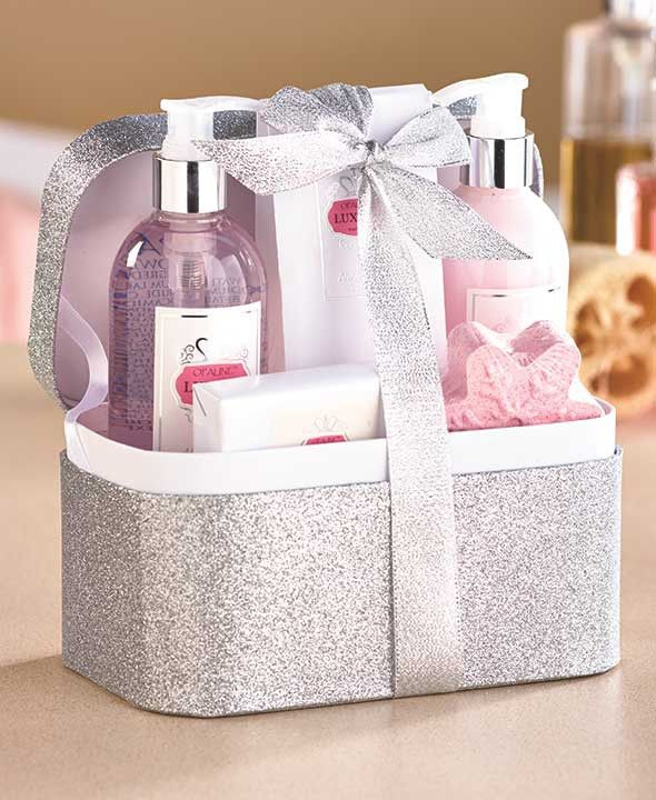 Woman's Fragrant Spa Gift Baskets Beauty & Cosmetic