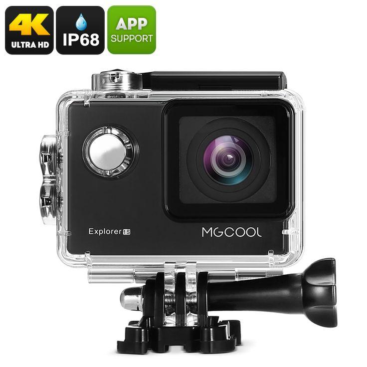 MGCOOL Explorer 1S Action 4k (3840 x 2160) Camera - Sony Image Sensor - Pick Pay Post