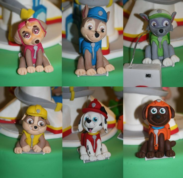 how to make paw patrol badge out of fondant