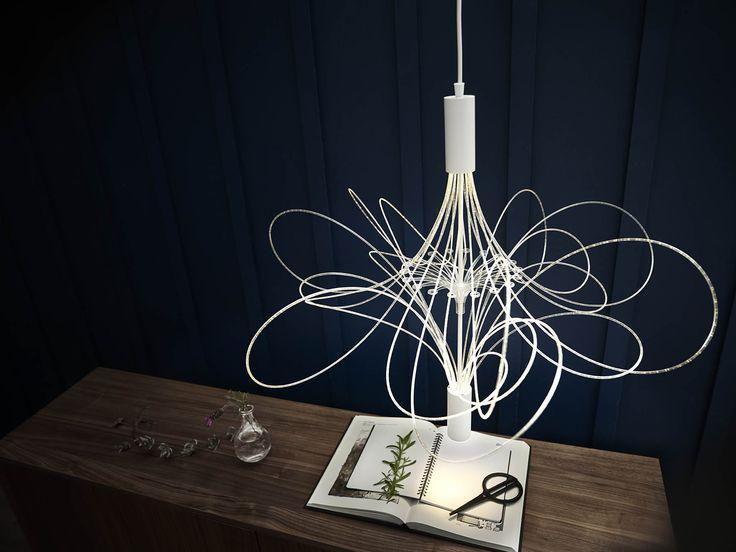IKEA ALVSBYN LED hanglamp Moderne kroonluchter