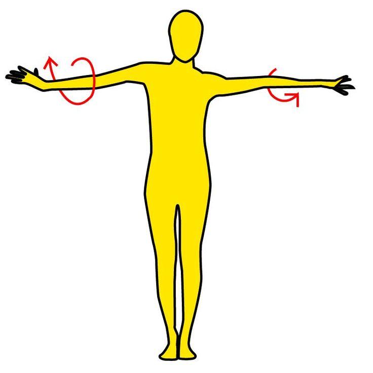 iPhoneアプリは→ https://itunes.apple.com/jp/app/minnaga-shouseta!1ri5fen-shuidemo/id581817739?mt=8 ■背中、二の腕に効く!  二の腕ねじり ※画像参照  1.背筋を伸ばし、足を揃えて立ちます。  2.両手を真横に真っすぐ伸ばします。  3.両腕を雑巾絞りのようにそれぞれ逆方向にねじります。※画像参照  捻る方向を交互に変えながら30回行いましょう!  ■注意点 1.腕をねじるときに肩が上がったり、ひじが曲がるのはNG!腕は常に伸ばして肩は落としましょう。  2.腕をねじるときに下半身や上半身が動かないようにしましょう。  3.腕をねじるときは息をゆっくり吐きましょう。   即効性がすごいと話題のエクササイズですので、是非試してみましょう! https://itunes.apple.com/jp/app/minnaga-shouseta!1ri5fen-shuidemo/id581817739?mt=8