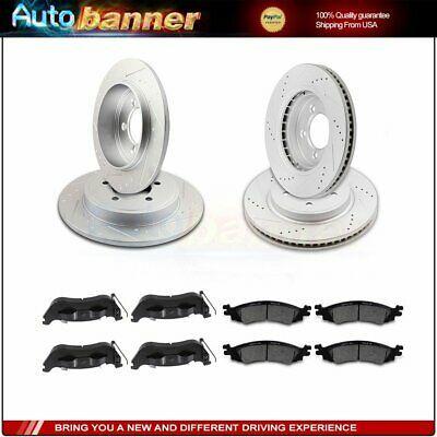 For 2006-2007 Subaru Impreza Front Rear eLine Drill Slot Brake Rotors