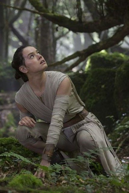 Rey from Star Wars Episode VII The Force Awakens. Natural beauty.