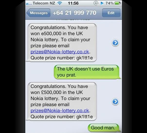 Epic Texts Messages epic fail text messages for pinterest