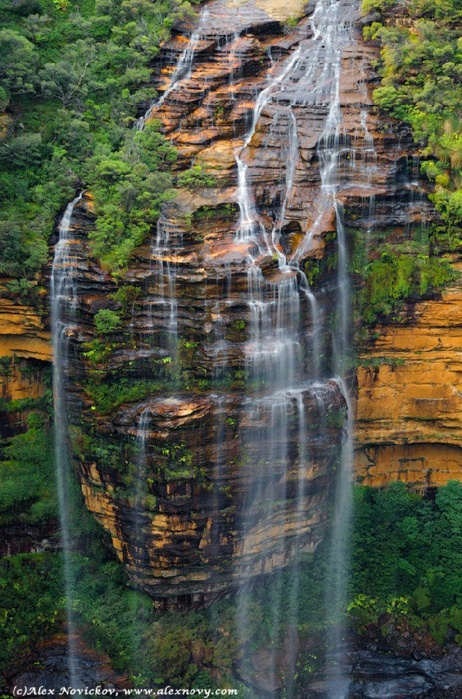 Falls Wentworth Falls, National Park, Blue Mountains, Sydney, Australia.