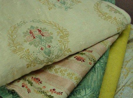 Claudia at The Paris Apartment blog - antique French textiles