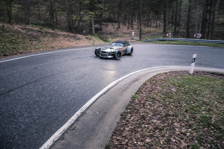 A Donkervoort D8 GTO have fun on a German Eiffel road..