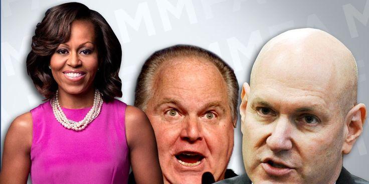 The Disgusting Way Conservative Talk Show Hosts Talk About Michelle Obama's Body http://www.huffingtonpost.com/2014/08/15/michelle-obama-fat-talk-show-hosts_n_5682597.html?ncid=fcbklnkushpmg00000013&ir=Politics
