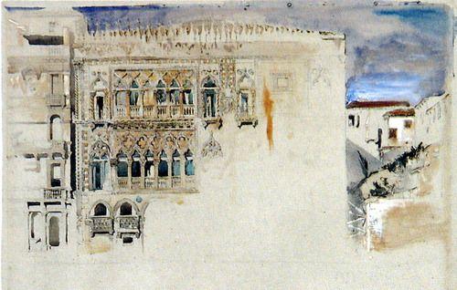 amore8d8:    Ca' d'Oro—John Ruskin, 1845