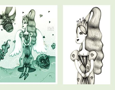 """Check out new work on my @Behance portfolio: """"Wizard of Oz"""" http://be.net/gallery/60655253/Wizard-of-Oz"""