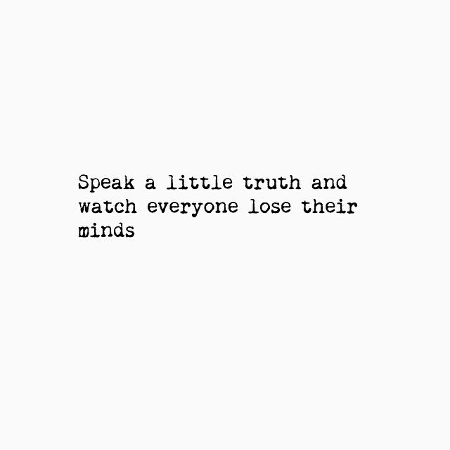 Ha! I'm always saying what everyone else is just thinking! People are always surprised by what comes out of my mouth! I just think it's always ok so speak the truth! Oops!