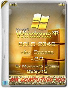 Windows XP Edicion ORO Sp3 Final (2016) [32 y 64 Bits] IMAGEN ISO ~ MR COMPUTING 100
