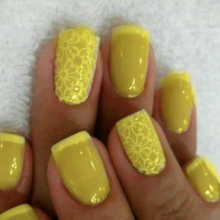 #ENDO #Yellow #Nails