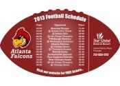 4x7 in One Team Atlanta Falcons Football Schedule
