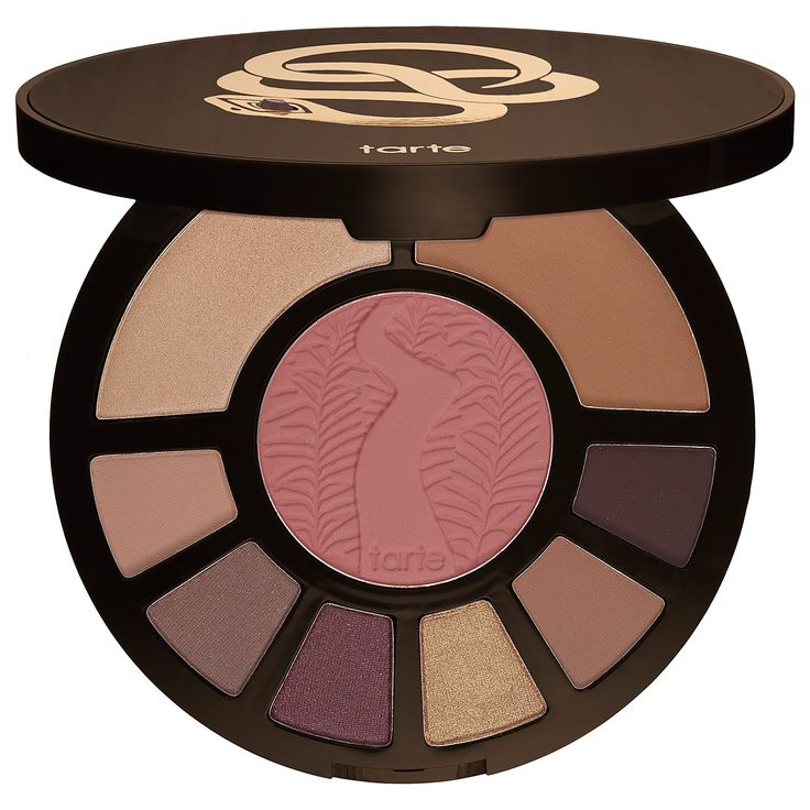 Tarte Rainforest After Dark Colored Clay Eye & Cheek Palette: a limited-edition, colored clay eye and cheek palette for day to night looks.