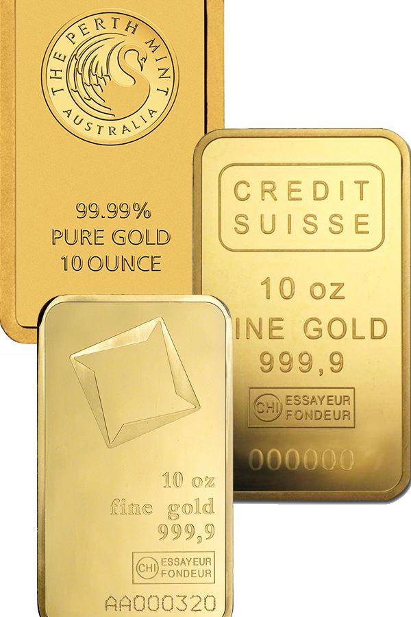 Buy 10 Oz Gold Bars Credit Suisse Gold Bars Money Metals In 2020 Gold Bullion Bars Gold Gold Bullion