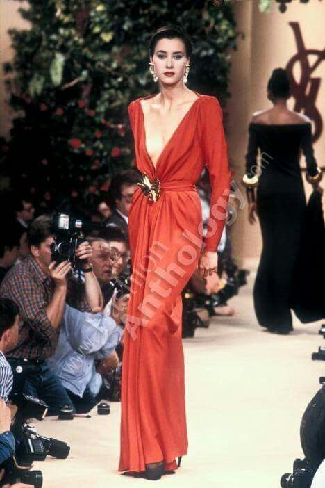 Yves Saint Laurent | Fall 1988
