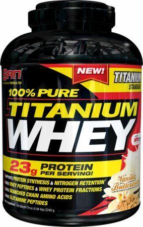 SAN 100% Pure Titanium Whey, (5 lbs)