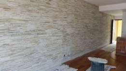 Revestimentonde parede em quartzito