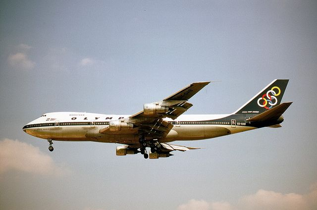 olympic airlines | Boeing 747-200