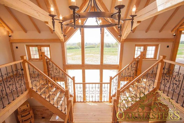 Oak Framed Houses and Extension. Luxurious Oak Framed home. #Oakmasters #Oak #luxury