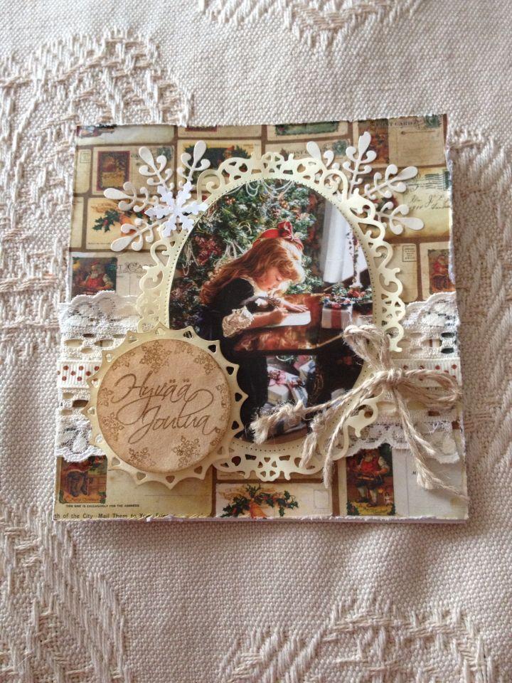 My handmade christmas cards 2014