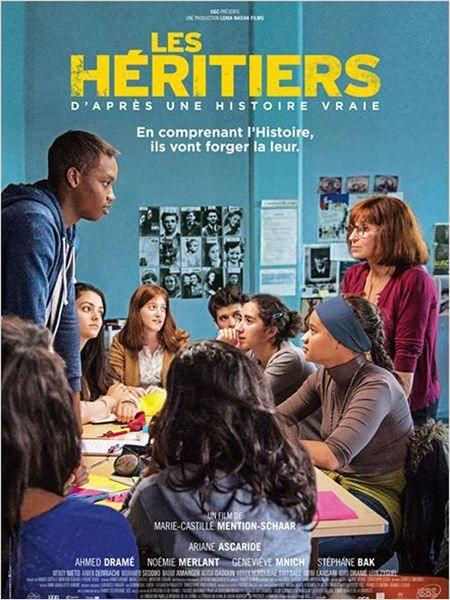 """""""Les Héritiers"""", une comedie dramatique de Marie-Castille Mention-Schaar avec Ariane Ascaride, Stéphane Bak... (12/2014) ♥♥♥♥"""