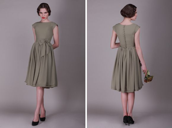 1000  ideas about Vintage Style Bridesmaid Dresses on Pinterest ...