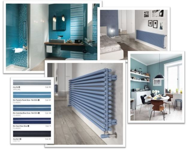 Tendenze arredamento 2015: i toni del blue!  (nella foto: Sitar 2- blu pastello) || 2015 home trends: the nuances of blue! (in the picture: Sitar 2 - pastel blue)