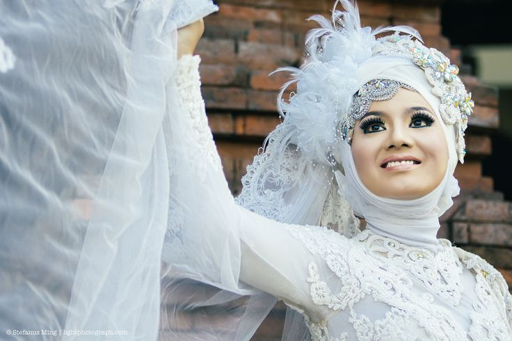 Thanks to Model : Regina #Semarang #Indonesia #WeddingHijab #HijabWedding #Hijabgown #Hijab